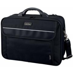 """Laptoptas Jüscha Lightpak Arco voor laptops tot 17"""" zwart"""