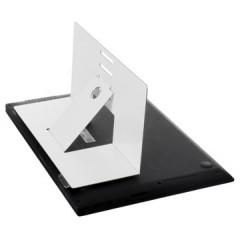 "Laptopstandaard R-Go Riser Attachable permanente bevestiging aan laptops tot max. 5kg/22"" wit"