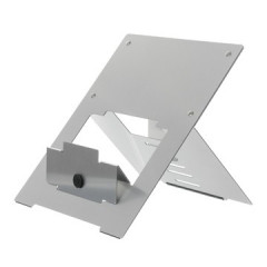 Laptopstandaard R-Go Riser zilver