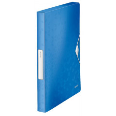 Elastobox Leitz WOW PP A4 25mm blauw metallic (4629036)
