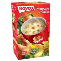 Minute soep Royco gevogelte/korstjes (20)