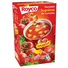Minute soep Royco tomaten/korstjes (20)