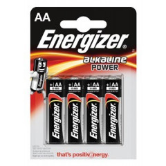 Batterij Energizer Alkaline Power AA (4)
