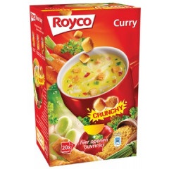 Minute soep Royco curry/korstjes (20)
