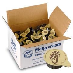 Geconcentreerde melk Moka cream 7,5ml (240)