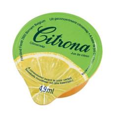 Citroensap Citrona 4,9ml cup (120)