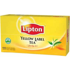 Thee Lipton yellow label (100)