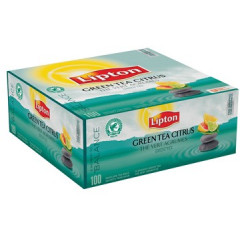 Thee Lipton green tea citrus (100)