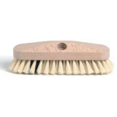 Schuurborstel met tampico haren uit ongelakt hout 23cm