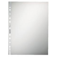 Showtas Leitz Premium PP A4 90µ 11-gaats gekorreld transparant (100)