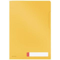 Zichtmap Leitz Cosy Privacy PP A4 warm geel (3)