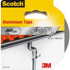 Reparatietape Scotch aluminium 50mm x 15m