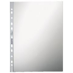 Showtas Leitz Premium PVC A4 80µ 11-gaats glashelder transparant (100)