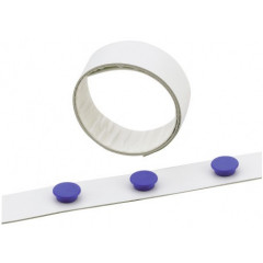 Magneetband Durable 35mmx5m wit