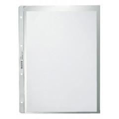Showtas Leitz Premium Plus PP A4 130µ 4-gaats gekorreld transparant (100)