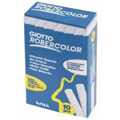 Krijt Giotto Robercolor wit (10)