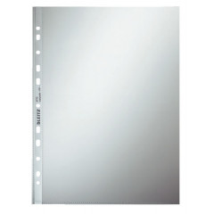Showtas Leitz PP A4 80µ 11-gaats glashelder transparant (100)(4770002)