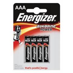 Batterij Energizer Alkaline Power AAA (4)