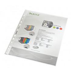 Showtas Leitz Premium PP A4 85µ 11-gaats gekorreld transparant (100)