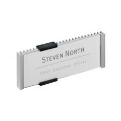 Deurnaamhouder Durable Info Sign 52,5x149mm metaal/zilver (D480023)