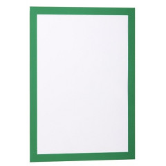 Ophangtas Durable Duraframe zelfklevend A4 groen (2)