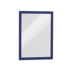 Ophangtas Durable Duraframe zelfklevend A4 blauw (2)