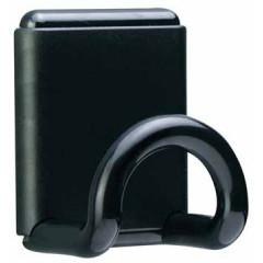 Muurkapstok Unilux magnetisch 8x10cm zwart