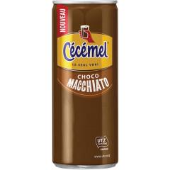 Chocolademelk Cecemel Macchiato 25cl blik (24)