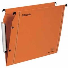 Hangmap Esselte Orgarex VisioPlus karton A4 330mm V-bodem kast oranje (25)