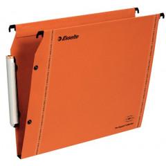 Hangmap Esselte Orgarex VisioPlus karton A4 330mm 15mm bodem kast oranje (25)