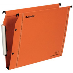 Hangmap Esselte Orgarex VisioPlus karton A4 330mm 30mm bodem kast oranje (25)