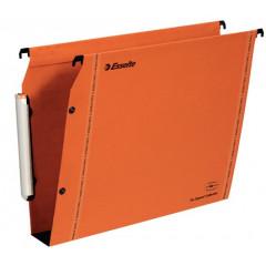 Hangmap Esselte Orgarex VisioPlus karton A4 330mm 50mm bodem kast oranje (25)