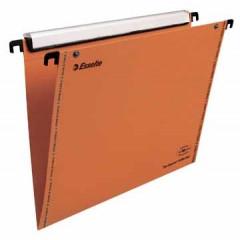 Hangmap Esselte Orgarex VisioPlus karton A4 330mm V-bodem lade oranje (25)