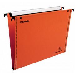 Hangmap Esselte Orgarex VisioPlus karton A4 330mm 15mm bodem lade oranje (25)