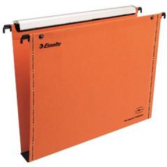 Hangmap Esselte Orgarex VisioPlus karton A4 330mm 30mm bodem lade oranje (25)