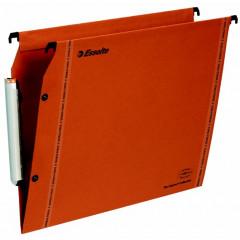 Hangmap Esselte Orgarex VisioPlus karton A4 330mm V-bodem kast oranje (10)