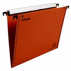 Hangmap Esselte Orgarex VisioPlus karton A4 330mm V-bodem lade oranje (10)