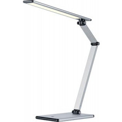 Bureaulamp Hansa Slim LED-lamp zilver