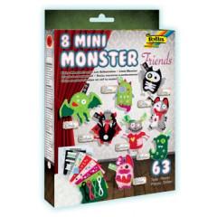 Knutselset Folia mini monsters (8)