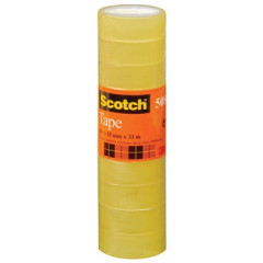 Plakband Scotch 508 15mm x 33m transparant (10)