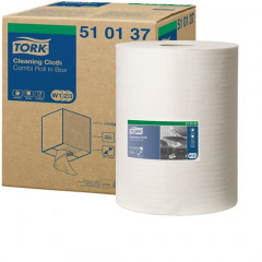 Poetsdoek Tork Cleaning Cloth W1/W2/W3 1-laags 400vel