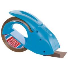 Afroller Tesa Pack'nGo voor verpakkingsplakband max 50mm blauw