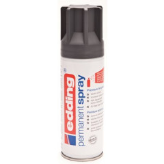 Acrylverf Edding 5200 Permanent Spray Premium 200ml antraciet mat