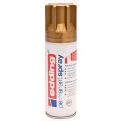 Acrylverf Edding 5200 Permanent Spray Premium 200ml rijkgoud mat