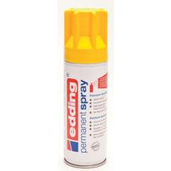 Acrylverf Edding 5200 Permanent Spray Premium 200ml verkeersgeel mat