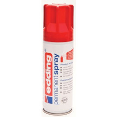 Acrylverf Edding 5200 Permanent Spray Premium 200ml verkeersrood glanzend