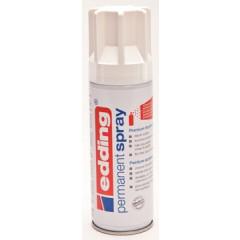 Acrylverf Edding 5200 Permanent Spray Premium 200ml verkeerswit mat