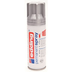 Acrylverf Edding 5200 Permanent Spray Premium 200ml zilver mat