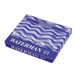 Inktpatronen Waterman standard blauw-zwart (8)