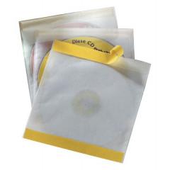 Etui Durable Pocketfix CD/DVD-hoes PP zelfklevend transparant (10)(D521019)
